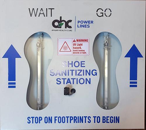UV Light Foot Sole Sanitizing Machine